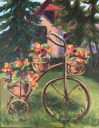 Nancy's Flowering Trike